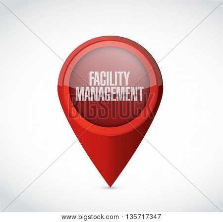 Facility Management Pointer Sign