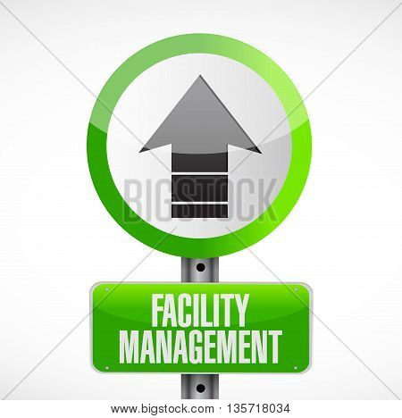 Facility Management Road Sign