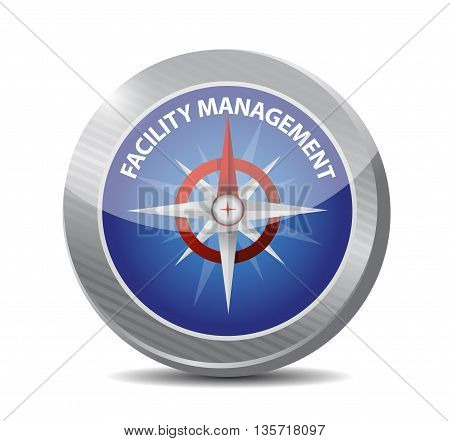 Facility Management Compass Sign