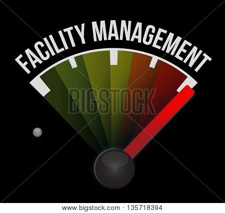 Facility Management Meter Sign
