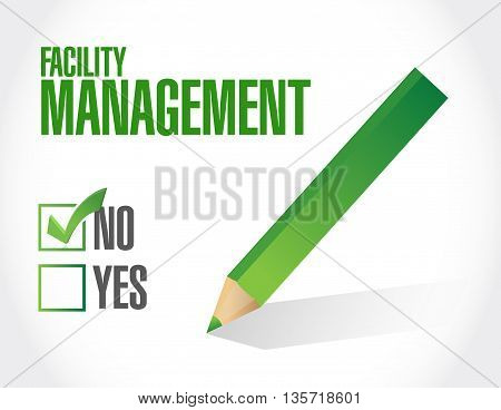 No Facility Management Approval Sign