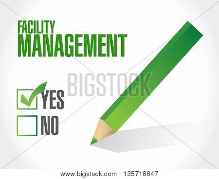 Facility Management Approval Sign Message