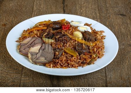 Rice With Horsemeat