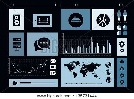 Social Media Marketing . Mixed media