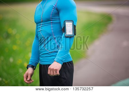 Smartphone In Arm Case