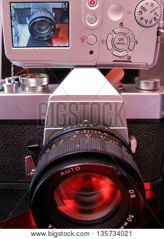 film and digital camera