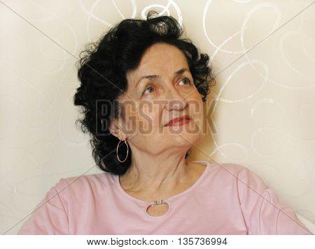 beautiful mature lady