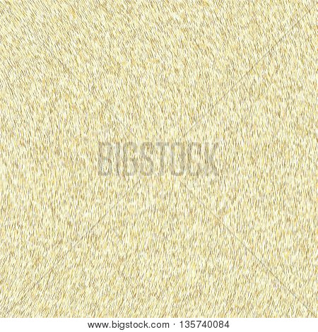 Abstract background, optical illusion of gradient effect. Stipple effect. Mosaic abstract composition. Rhythmic yellow tiles. Decorative shapes. Golden particles. Grain texture