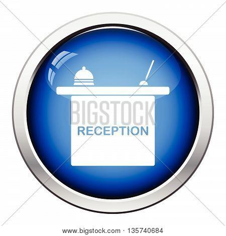 Hotel Reception Desk Icon