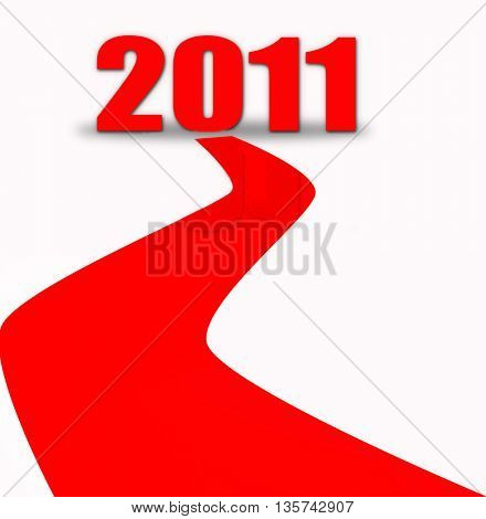 red carpet for new year
