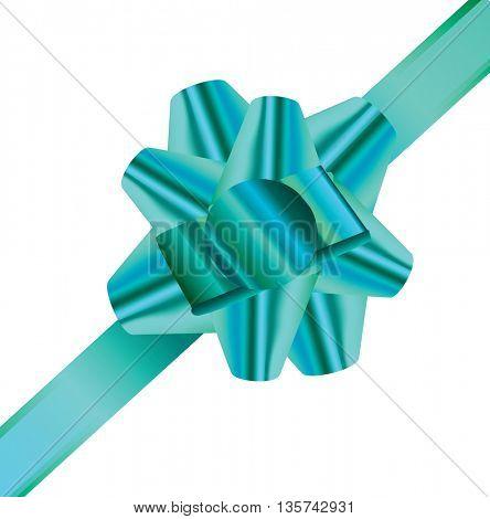 Decorative realistic ribbon.