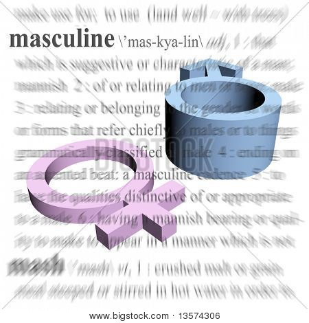 A symbol of male dominance or masculinity