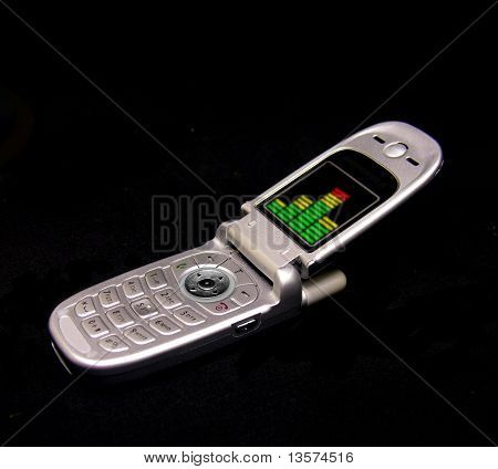 A photo of a cell phone