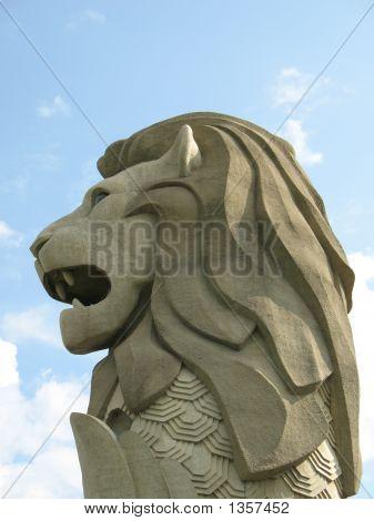 Merlion Head