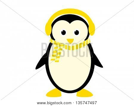 Funny Penguin illustration