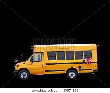 A photo of a school bus