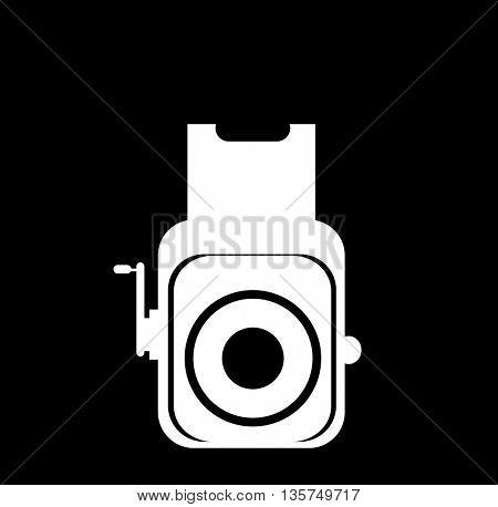 photo camera retro icon
