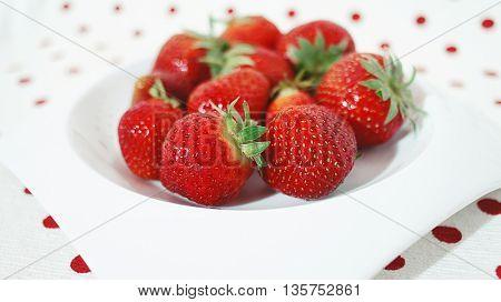 Beautiful strawberries