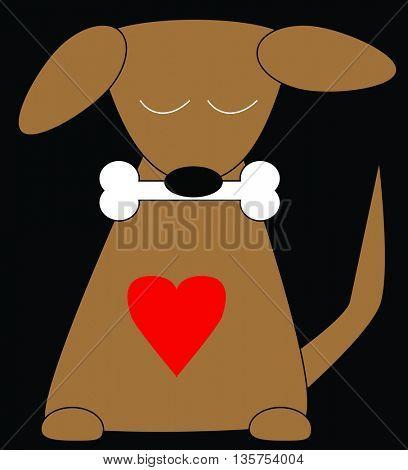 puppy cartoon