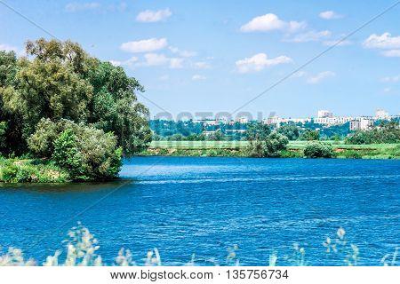 Summer Day Riverside