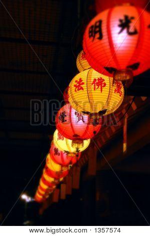 Lanterns At Kek Lok Si Temple
