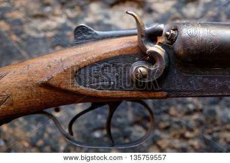 Trigger An Old Hunting Rifle