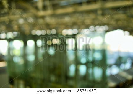 blur metalic structure of industry abstract background