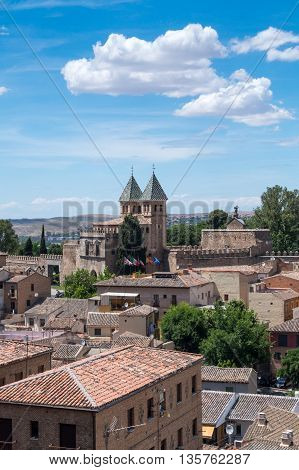 Beautiful sunny day in Toledo Andalusia Spain summer 2016