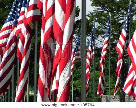 Denkmal-Flags