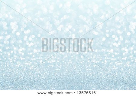 blue and white glitter texture abstract background