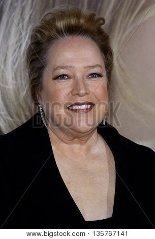 Kathy Bates at the World premiere of 'Revolutionary Road' held at the Mann Village Theater in Westwood, USA on August 15, 2008.