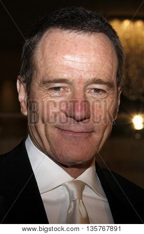 Bryan Cranston at the 13th Annual Art Directors Guild Awards held at the Beverly Hilton Hotel in Beverly Hills, USA on February 14, 2009.