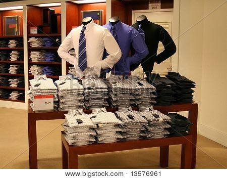 A photo of business clothing