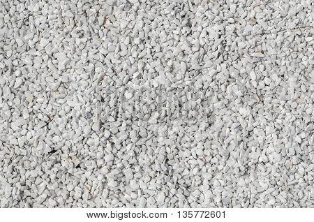 White stone gravel texture for your background