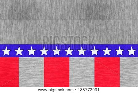 american flag on a beautiful wood texture