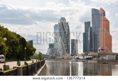 Moscow, Russia - June 14, 2016: International Business Center