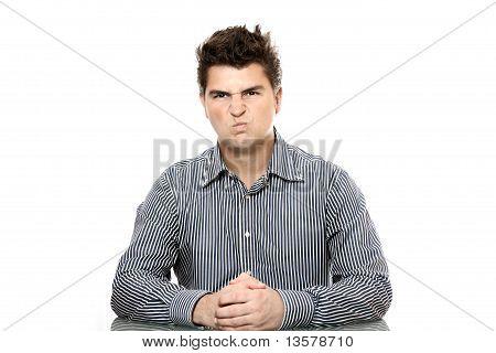 Dissatisfied Boss