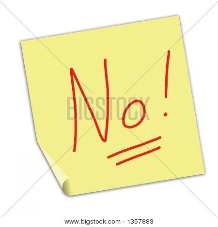 Note No!