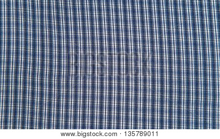 Blue and white tablecloth background plaid fabric texture