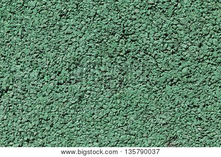 surface green stone floor of artificial synthetic texture for design background.