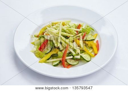 salad on the table