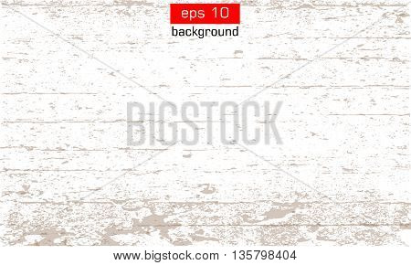 Background. Grunge Vector. Texture effect. Wood grain effect on white background