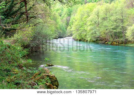 one idyllic place to enjoy nature and fishing in Montenegro