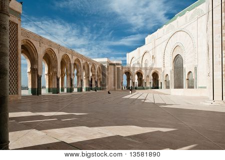 Islamic Mosque Casablanca Morocco