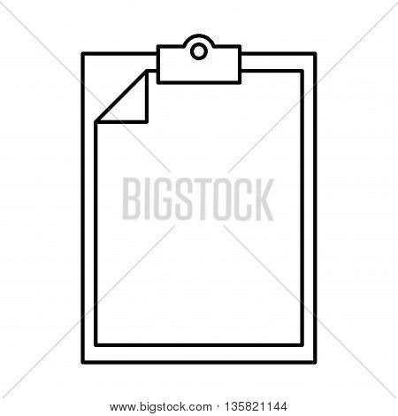 Document concept represented by archive icon. isolated and flat illustration