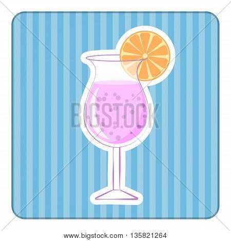 Cocktail Colorful Icon