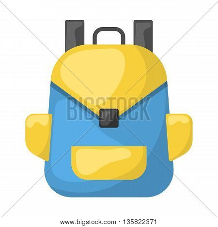 Backpack Colorful Icon
