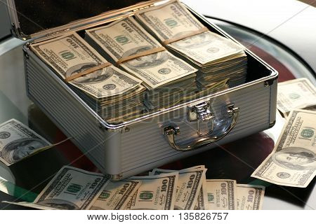 a lot of money a stunning picture. financial concerns this money business