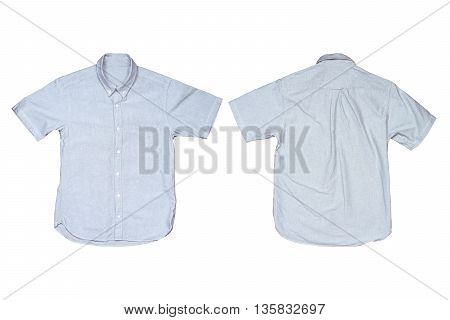 Casual shirtst isolated on white color background