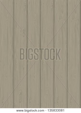 Natural wooden texture of light beige color. vector illustration